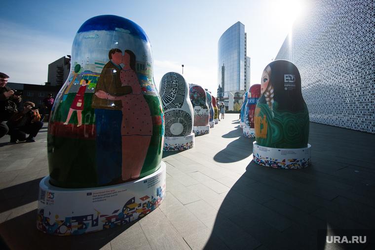 Экспозиция 10 авторских матрешек к Всемирной универсальной выставке ЭКСПО 2025. Екатеринбург , матрешки, экспо2025, expo 2025