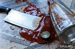 Нож и кетчуп. Челябинск, бытовое убийство, мясницкий нож