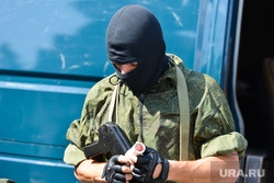День ВДВ в Челябинске, спецназ, автомат, маски-шоу, военный, росгвардия