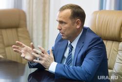 Встреча врио губернатора Курганской области Шумкова Вадима со СМИ. г. Курган, шумков вадим