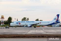 Споттинг в Кольцово. Екатеринбург, самолет, уральские авиалинии, airbus А321