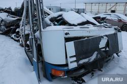 Обломки автобуса ДТП ХМАО, Спецстоянка ХМАО, спецстоянка