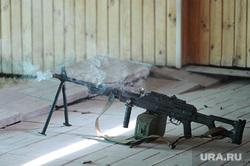 ОМОН стрельбище Оружие Челябинск, пулемет пкм