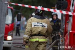 Пожар на ул. 1-ая Заводская, дом 20. Курган, мчс россии