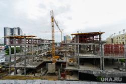 Строительство объектов к саммитам ШОС и БРИКС. Челябинск, стройка, строительство, конгресс-холл таганай2020