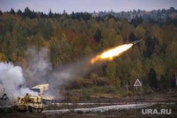 Выставка вооружений Russia Arms Expo-2013. RAE. Нижний Тагил, испытательный полигон, военная техника, ракета, выстрел