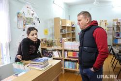 Посещение молочной фермы Александром Моором и Алексеем Бобровым. Петелино, бобров алексей