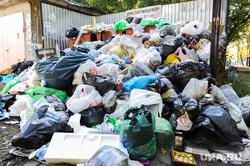 Мусорные площадки. Челябинск, мешки с мусором, мусорные площадки, мусор