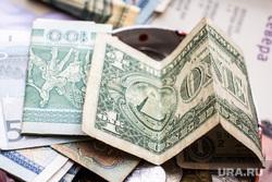 Клипарт. Нижневартовск, купюры, доллары, евро, деньги, валюта