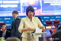 Первое заседание ЦИК в новом составе. Москва, гришина майя, голосование