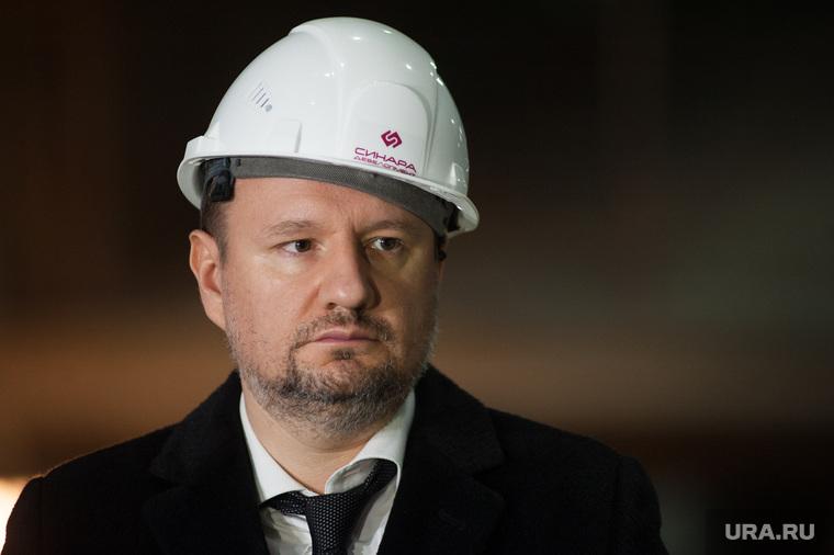 Пресс-тур на строительную площадку Конгресс-центра, спроектированного в составе МВЦ «Екатеринбург-ЭКСПО». Екатеринбург