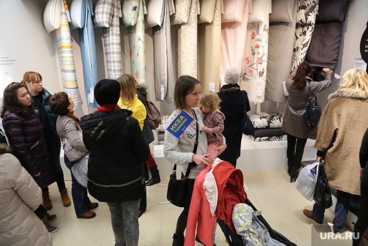 """Открытие магазина """"IKEA"""". Тюмень, ikea, икеа, очередь, толпа"""