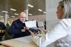 ВЫБОРЫ 2018. День голосования в Челябинске, дубровский борис, избирательный участок 0822