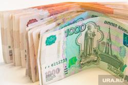 Клипарт. Пермь , рубли, денежные купюры, тысячные купюры