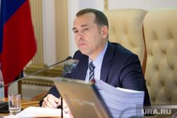 Заседание у врио губернатора Курганской области Вадима Шумкова. г. Курган , шумков вадим