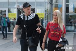 Павел Погребняк с женой прибыл в Екатеринбург, погребняк павел, погребняк мария