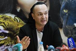 Пресс-конференция по поводу закрытия Екатеринбургского цирка. Екатеринбург, эрадзе гия