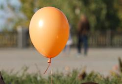 По следам В.В.Владимирова.  Ставрополь, влюбленные, парочка, воздушный шарик