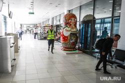 Аэропорт Рощино, пресс-тур с общественным советом ГУСа. Тюмень, аэропорт рощино