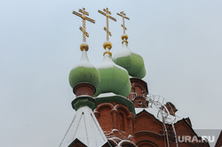 Объезд городских территорий Борисом Дубровским. Челябинск, купола храма, рпц, вера, религия