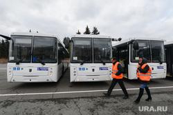 Вручение новых автобусов OOO «Общественный городской транспорт». Челябинск, автобусы нефаз