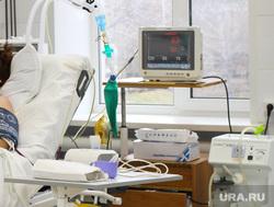 Выездная комиссия гордумы во 2 городскую больницу Курган, реанимация, медицинское оборудование, больница, травматологическое отделение