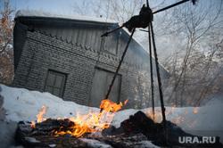 Масленица в ГЦСИ. Екатеринбург, костер, пламя, сжигание, огонь, масленица