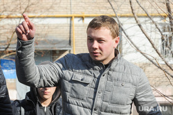 Противостояние жителей дома на Каслинской 17, защищающих детскую площадку, и застройщика. Челябинск, голощапов максим