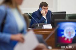Первое заседание Совета по молодежной политике в резиденции полномочного представителя президента РФ в УрФО. Екатеринбург, шумков вадим, разговаривает по телефону