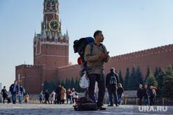 События с улиц. Москва, турист, красная площадь