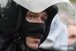Задержания участников митинга против пенсионной реформы в Екатеринбурге, маска, взгляд, глаза, полиция