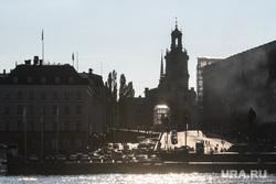 Виды Стокгольма. Швеция, набережная, путешествие, европейский город, европа, стокгольм, католический храм