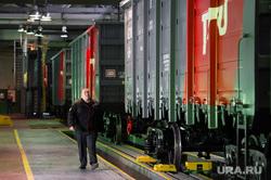 Сдача десятитысячного универсального вагона Уралвагонзавода. Нижний Тагил, увз, уралвагонзавод, грузоперевозки, малярно-сдаточный цех, железнодорожный вагон