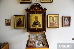 Виды Челябинска, иконостас, молельная комната юургу
