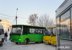 Тестирование маршрута новой транспортной схемы. Екатеринбург, маршрутка, автобус, остановка общественного транспорта