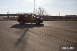 Рейд по дорогам с ОНФ. г. Курган, машина, дорога после ремонта, дорога из города