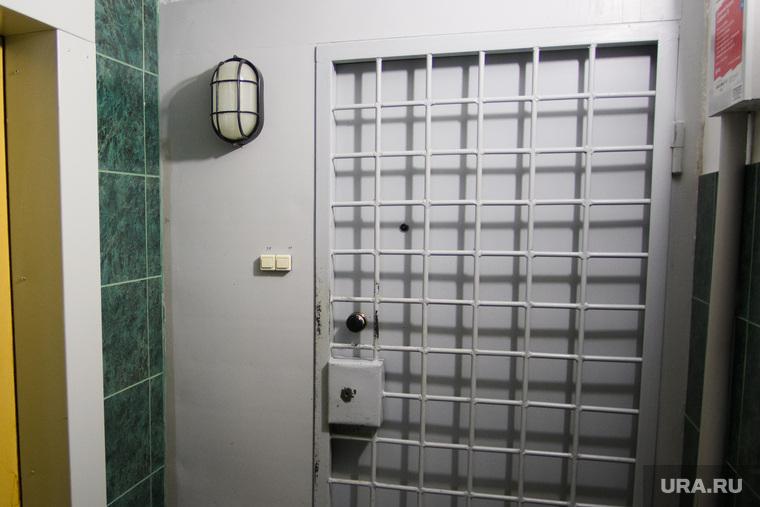 Дом Владимира Пузырева. Екатеринбург, дверь, решетка