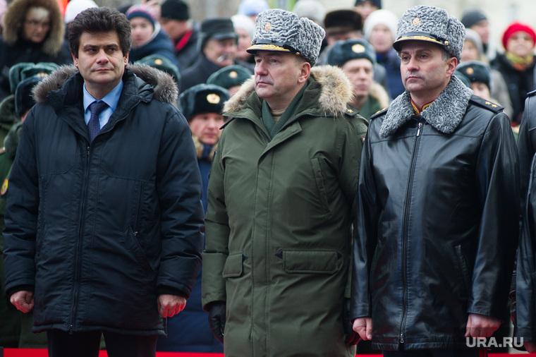 Торжественное открытие памятника «Военным контрразведчикам». Екатеринбург