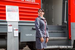 День Свердловской железной дороги в Законодательном Собрании. Екатеринбург, вагон, проводник, ржд