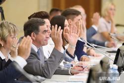 Заседание общественной палаты Свердловской области. Екатеринбург, бадаев феликс, голосование
