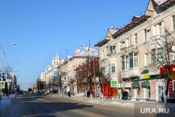 Зимний Курган., улица ленина, зима