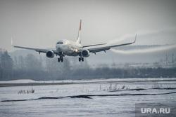 Первый споттинг в Кольцово. Екатеринбург, самолет, сомон эйр, авиалинии таджикистана, посадка самолета