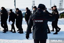 Митинг, посвященный Дню защитника Отечества. Сургут, полиция, росгвардия