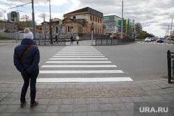 Экскурсия «Пеший путь из Центра на ВИЗ» с Полиной Ивановой. Екатеринбург, пешеходный переход