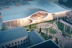 Проект концертного зала филармонии Екатеринбурга  , проект концертного зала филармонии