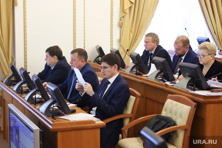 Заседание правительства Курганской области