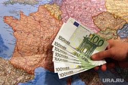 Ситуация в банках Кургана, карта, евро, валюта, европа