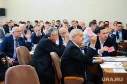 Заседание гордумы по отставке Евгения Тефтелева и назначению врио главы Владимира Елистратова. Челябинск, рыльских виталий, гордума, депутаты, голосование
