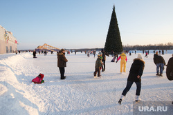 Экспо-Елка - 2016. Екатеринбург, елка, каток