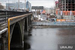 Макаровский мост. Екатеринбург, макаровский мост, мост челюскинцев, зима